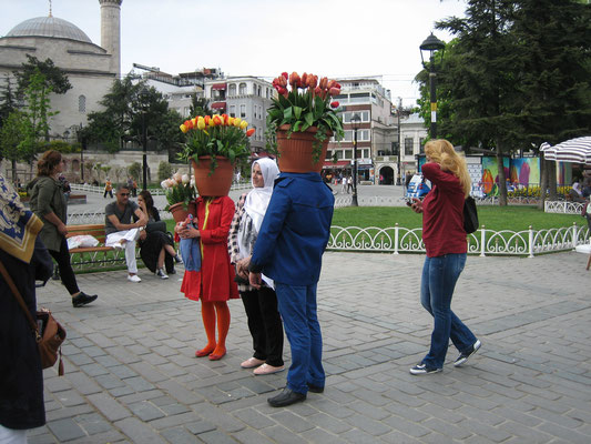 Tulpenfest in Istanbul...
