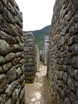 In den Gassen der alten Inka-Stadt