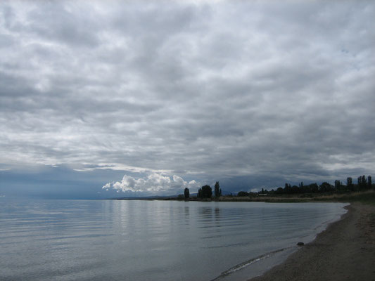 Issyk Kul See am Morgen