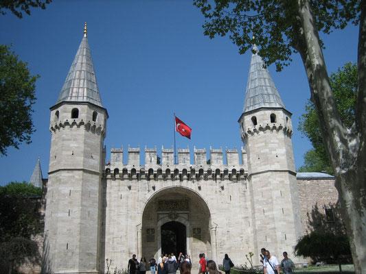 Eingang zum Topkapi-Palast