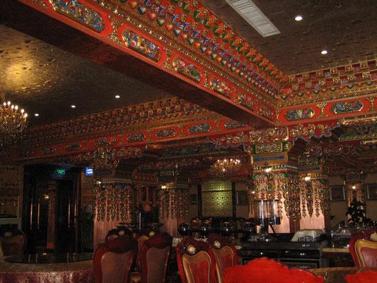 Tibetisches Hotel-Restaurant