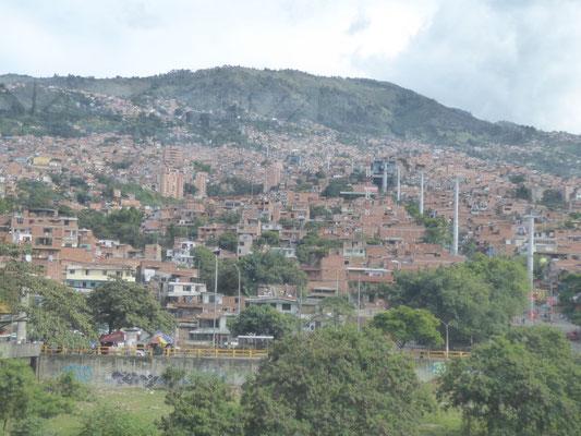 nochmal Medellín von oben