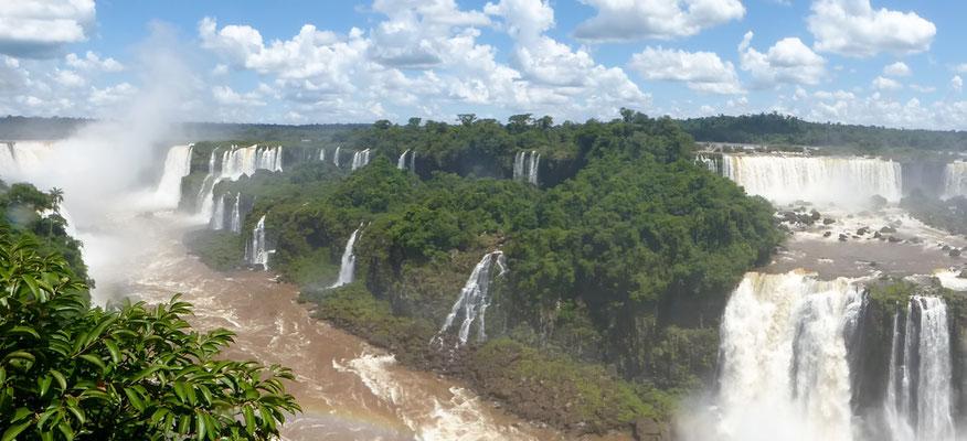 noch ein Blick von der brasilianischen Seite