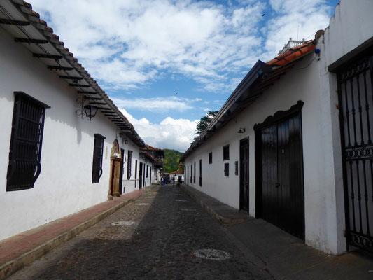 Straßenszene in Girón