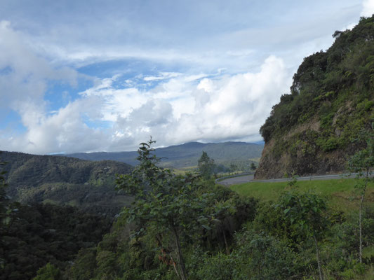 Auf dem Weg nach Ecuador