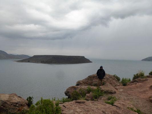 Noch nicht der Titicacasee, sondern der Umayosee