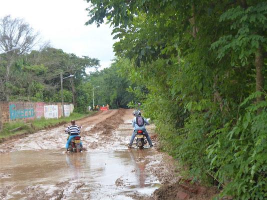 Anreise nach Girón: Nachts hat es geregnet