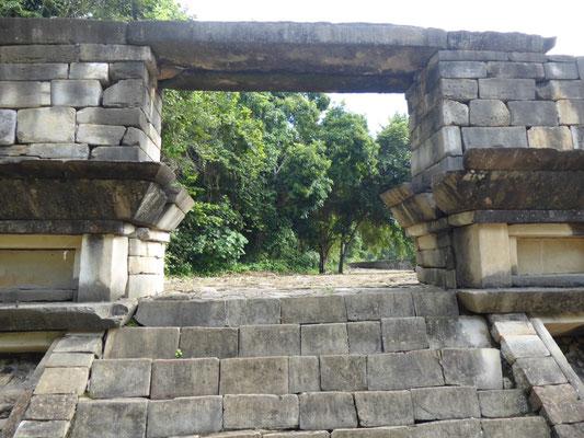 Eingang zum Pelota-Platz