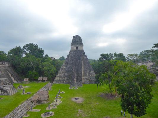 Großer Jaguar Tempel