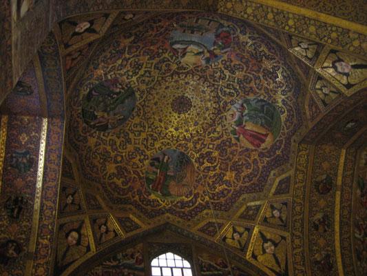 Deckengemälde in der Vank-Kathedrale