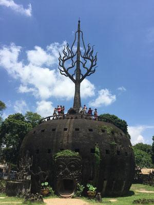 Auch im Buddha-Park