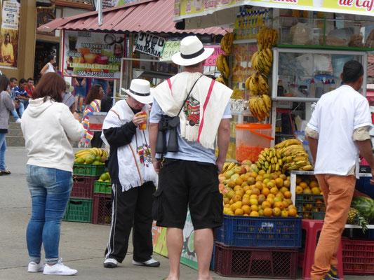 Touristen in Salento
