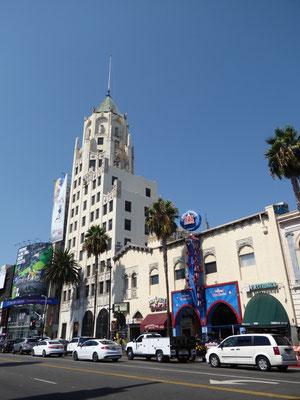 The Hollywood Wax Museum (haben wir nicht besichtigt)