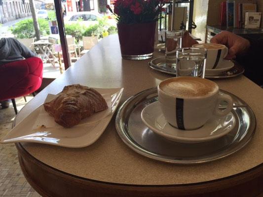 Wiener Frühstück (der definitiv beste Kaffee der Reise, kann kaum besser werden)