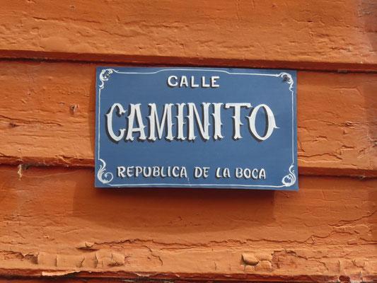 Toruistenattraktion: Der Caminito in der Boca