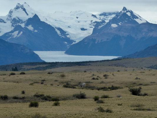 Ein letzter Blick auf den Gletscher