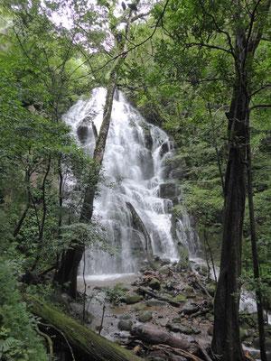 """Regenzeit hat auch Vorteile: Es gibt """"saisonale"""" Wasserfälle."""