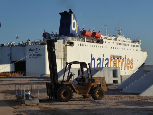 Unsere Fähre: Die Baja Star