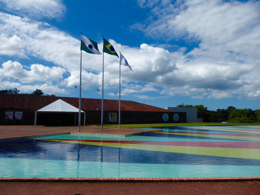 Eingang zum Nationalpark (brasilianische Seite)