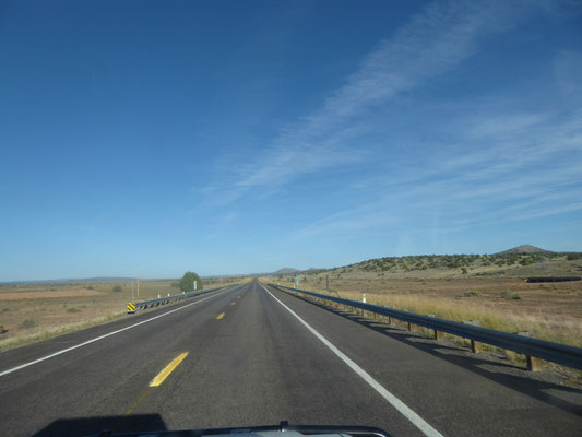 Auf der alten Route 66 nach Seligmann