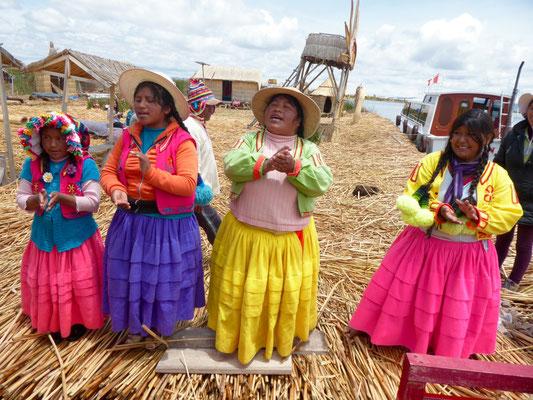 Abschied (Ständchen in Aymara, Spanisch und Englisch)