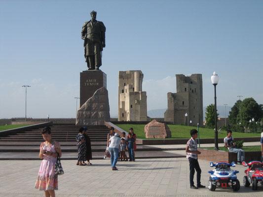 Amir Timur, der Held der Usbeken