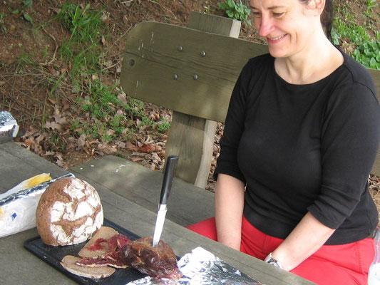 Picknick mit Sollinger Wildschweinschinken