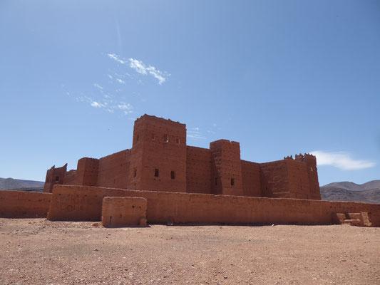 Eine der ältesten Lehmburgen Marokkos