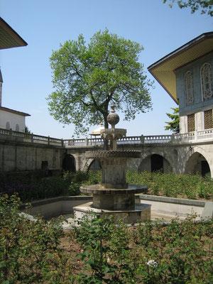 Brunnen im Topkapi Serail