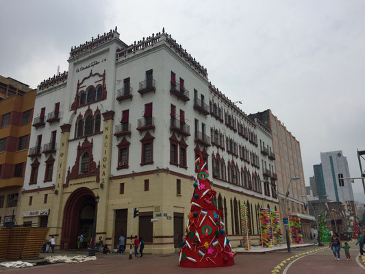 Eines der wenigen erhaltenen Kolonialgebäude im Zentrum Calis, ehemalige Tabakgesellschaft und ehemaliges Hotel