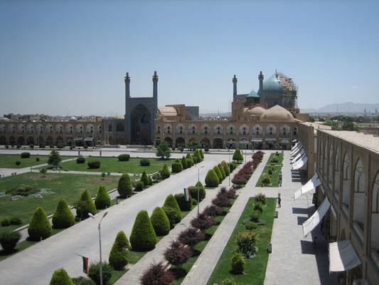 Blick zur Südseite des Meidan-e Emam