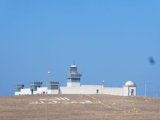 Leuchtturm am Atlantik