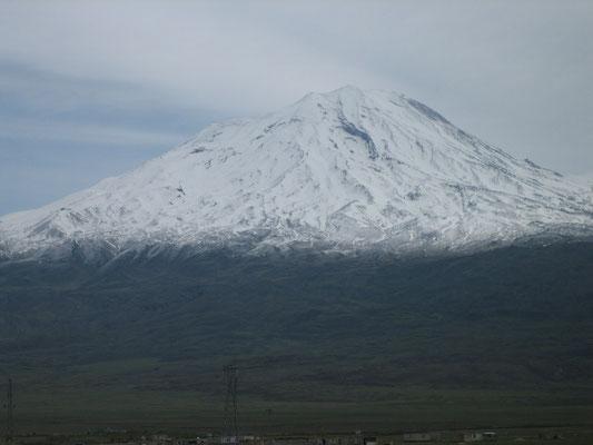 Der biblische Ararat am Wegesrand