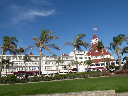 "Hotel Del Coronado in  San Diego: Hier wurde u. a. ""Some like it hot"" gedreht"