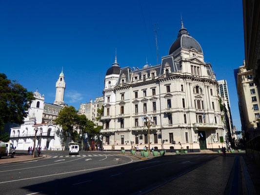 Prachtbauten in Buenos Aires