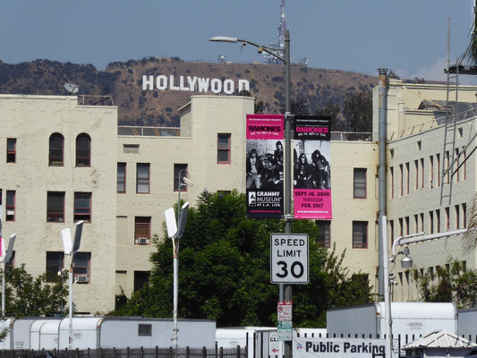Touri-Exkursion nach Hollywood