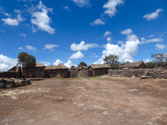 Gehöft auf der Weiterfahrt nach Arequipa