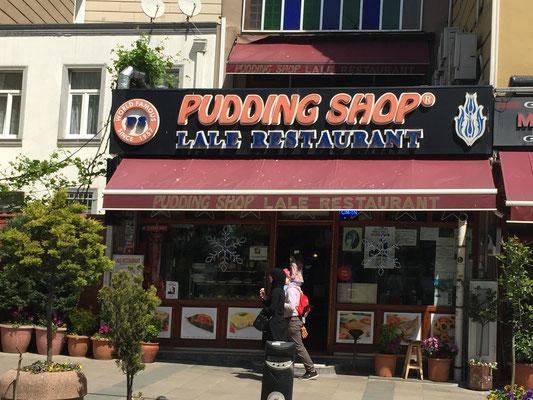 Der legendäre Pudding-Shop: Da war der Schmid schon 1972!