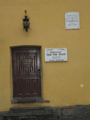 Geburtshaus von Vlad II (besser bekannt als der Pfähler oder Graf Dracula)