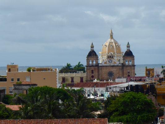 Blick auf die Altstadt mit Kathedrale