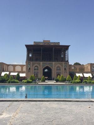 Ali Qapu, die Hohe Pforte (Gartenpalast)