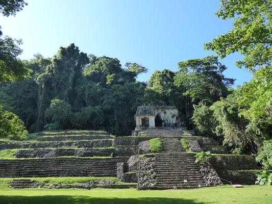 In den Ruinen von Palenque