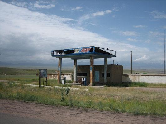 Aufgegebene Tankstelle