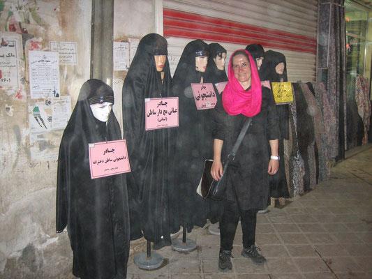 In einer iranischen Mall