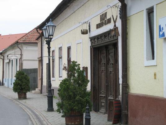 Stadtbild in Tokaj