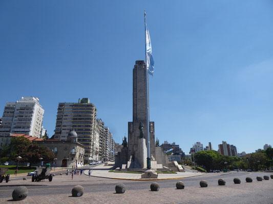 Monumenta de la Bandera, diesmal in voller Pracht