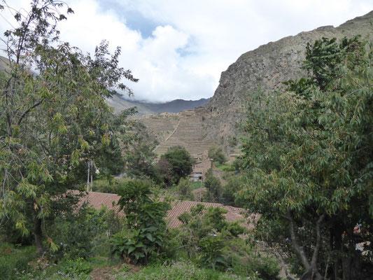 Die Ruinen von Ollantaytambo sind auch spektakulär, aber natürlich nichts im Vergleich zur großen Schwester