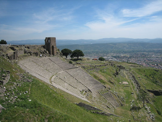 Amphitheater in Pergamon