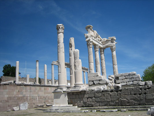 Tempel in Pergamon