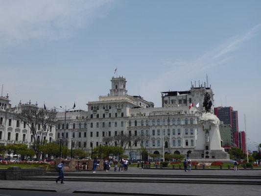 Plaza San Martín in Lima